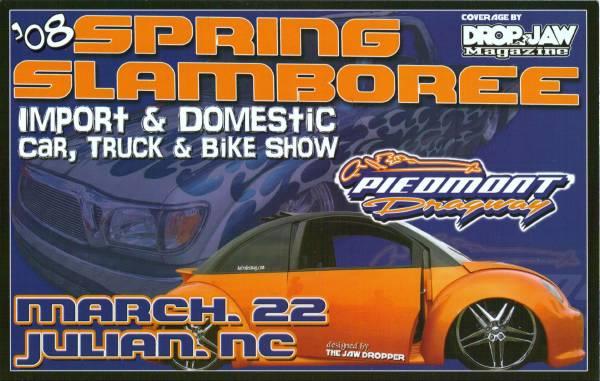 Spring Slamboree Flier