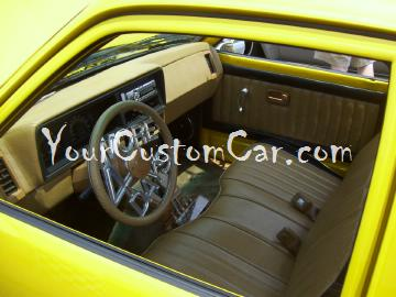 Custom isuzu minitruck interior