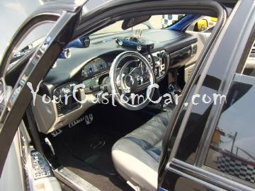 Custom Impala interior