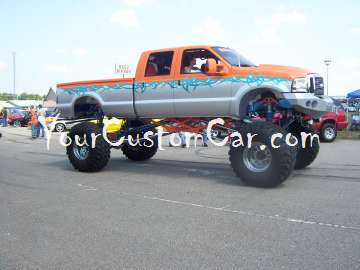Lifted Trucks show