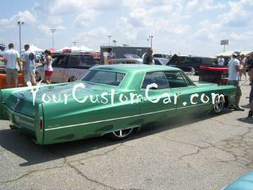 Customized cadillac