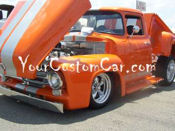 Ford hot rod truck
