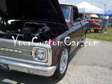 old school custom c10