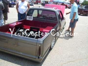 Custom minitruck bed