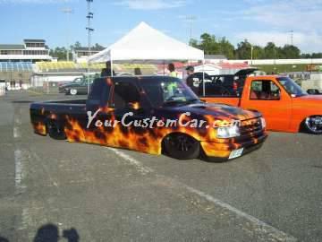 flame truck Scr8pFest