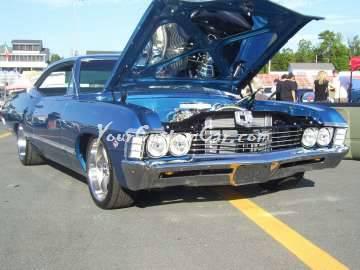 Scr8pfest 11 car show blue impala