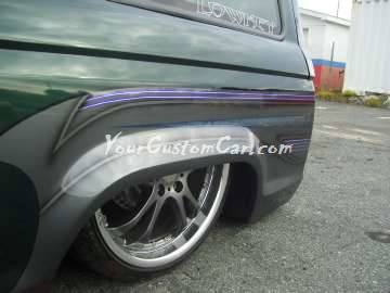 Scr8pfest 11 Bronco custom paint tuckin lugs