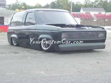 Bronco Car show