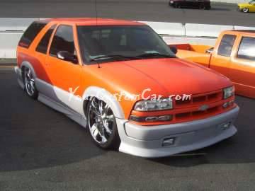 Scr8pFest 11 Orange Blazer