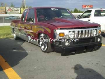 Hummer conversion grill air suspension yourcustomcar.com scr8pfest 11