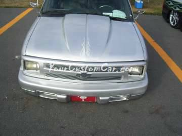 Layed Laid out Silver Blazer air bags Scr8pFest 11