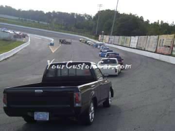 Pebble Pushers Scr8pFest members rides cars trucks