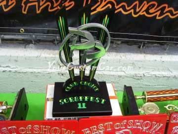 Scr8pfest 11 Awards Car show Pebble Pushers club choice custom minitrucks
