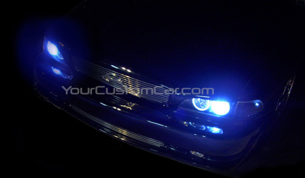 custom impala ss, hid kit, dark blue