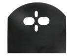 plain, basic, bridge plate, dual port, bridge kit, air bag, upper, mount, minitruck, fullsize, air suspension, 4 link