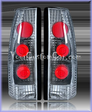 chevrolet silverado tail lights, custom tail lights, carbon fiber tail light, silverado tail light, sierra tail light, chevrolet taillights