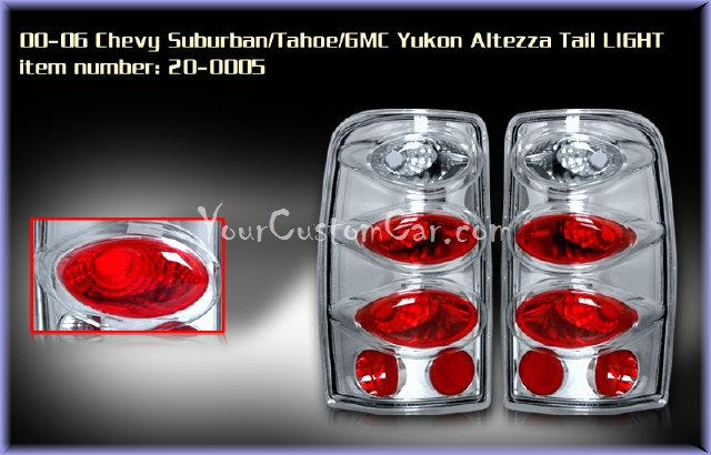 chevrolet silverado tail lights, custom tail lights, black tail light, silverado tail light, sierra tail light, 99-06 chevrolet taillights