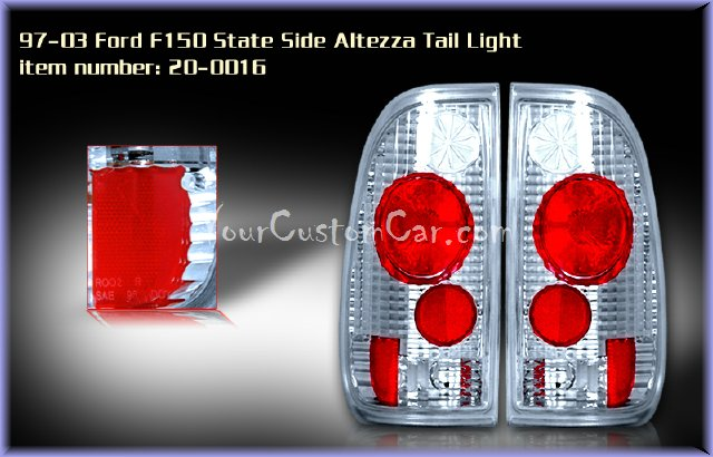 f150 tail lights, custom tail lights, chrome tail light, f-150 tail light, custom f150, ford taillights