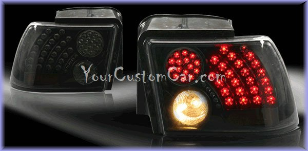 mustang led taillights, mustang lights, custom mustang, ford mustang led,