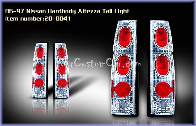nissan hardbody tail lights, custom tail lights, custom minitruck taillight, nissan hardbody tail light, custom hardbody, nissan taillights