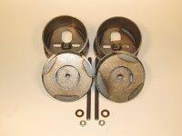 91-96, impala airbag brackets, impala air bag brackets, airbag cups, rear bag brackets
