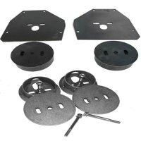 c10 airbag brackets, c10 airbag cups, c10 air suspension, 63-72 c10, lowrider c10