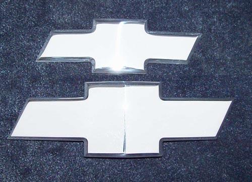 camaro bowtie, front, rear, combo, polished camaro bowtie