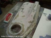 custom fiberglass door panel impala SS