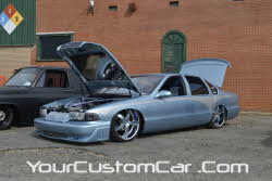custom impala ss on airbags, air bags