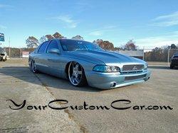custom impala ss, 2 inch cowl hood, fiber glass front , custom headlights, Stillen bumper cover