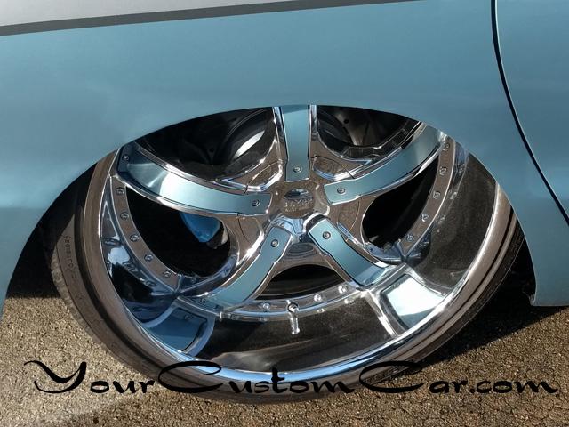 custom impala ss, starr alloys , tuck 22 inch rims, 5 spoke 22 on impala