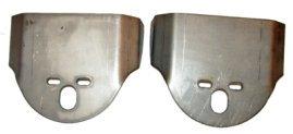 rear upper bag bracket, single port, universal bag bracket, frame rail bag bracket