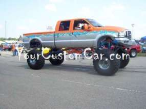 Lifted Trucks show