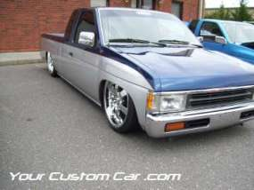 drop em wear show, car truck show, custom minitruck, custom car, custom nissan hardbody