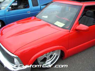 drop em wear show, car truck show, custom minitruck, custom car, custom body dropped blazer