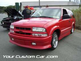 drop em wear show, car truck show, custom minitruck, custom car, custom red blazer