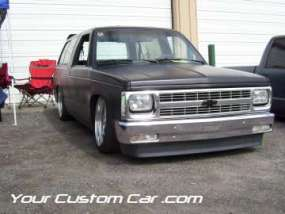 drop em wear show, car truck show, custom minitruck, custom car, custom square blazer