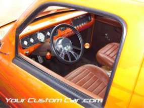 drop em wear show, car truck show, custom minitruck, custom car, custom ranger interior
