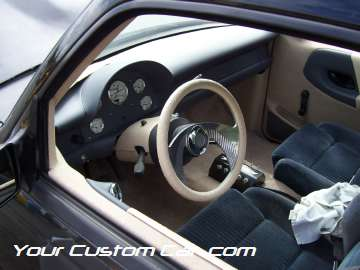 drop em wear show, car truck show, custom minitruck, custom car, ranger interior