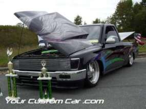 drop em wear show, car truck show, custom minitruck, custom car, custom toyota