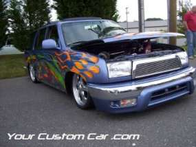 drop em wear show, car truck show, custom minitruck, custom car, custom 4 runner