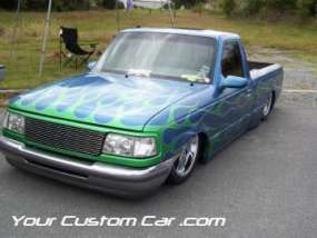 drop em wear show, car truck show, custom minitruck, custom car, custom ranger