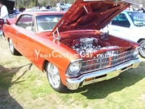 Custom Painted Chevy II