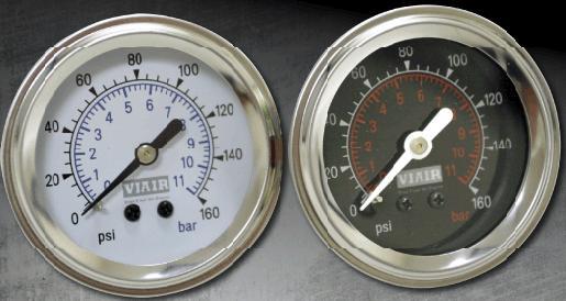 air, gauge, 160, psi, needle, air suspension, viair, tank