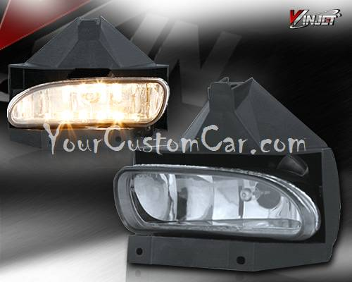 99-04, ford mustang, mustang fog lights, custom mustang, performance lights, oem style, mustang lights