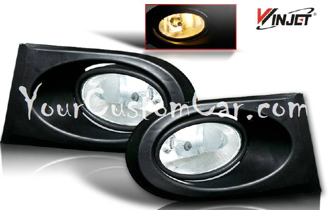 02, 03, 04, acura rsx fog lights, fogs, performance lights, oem style, jdm