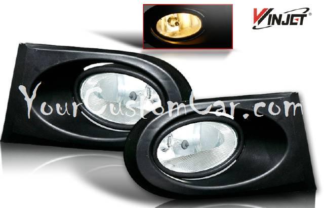 02, 03, 04, acura rsx fog lights, fogs, performance lights, oem style, jdm