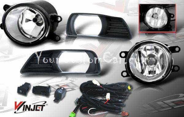 07, 08, toyota camry, camry fog lights, fogs, performance lights, oem style, jdm