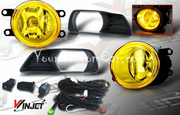 06, 07, honda fit, fit fog lights, custom fit, performance lights, oem style, jdm