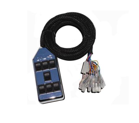 switch box, air supension controller, avs, arc-7-chr, chrome